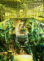 Inside GM Daewoo factory. <br /> <br /> Photo portfolio of Kim  / Sinopix
