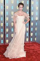 Millie MacKintosh<br /> arriving for the BAFTA Film Awards 2019 at the Royal Albert Hall, London<br /> <br /> ©Ash Knotek  D3478  10/02/2019
