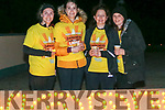 At the Kenmare Darkness in to Light on Saturday morning from left:   Kathryn Sullivan, Jennifer O'Leary Catriona Harrington, Brid Murphy,