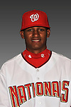 14 March 2008: ..Portrait of Randy Matias, Washington Nationals Minor League player at Spring Training Camp 2008..Mandatory Photo Credit: Ed Wolfstein Photo
