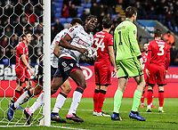 Bolton Wanderers' Clayton Donaldson celebrates scoring his side's first goal <br /> <br /> Photographer Andrew Kearns/CameraSport<br /> <br /> Emirates FA Cup Third Round - Bolton Wanderers v Walsall - Saturday 5th January 2019 - University of Bolton Stadium - Bolton<br />  <br /> World Copyright &copy; 2019 CameraSport. All rights reserved. 43 Linden Ave. Countesthorpe. Leicester. England. LE8 5PG - Tel: +44 (0) 116 277 4147 - admin@camerasport.com - www.camerasport.com