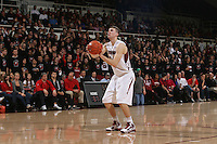 STANFORD, CA - JANUARY 9:  Andrew Zimmerman of the Stanford Cardinal during Stanford's 70-59 win over the UCLA Bruins on January 9, 2009 at Maples Pavilion in Stanford, California.