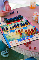 Stratego, board game,  10 × 10 square board, two players
