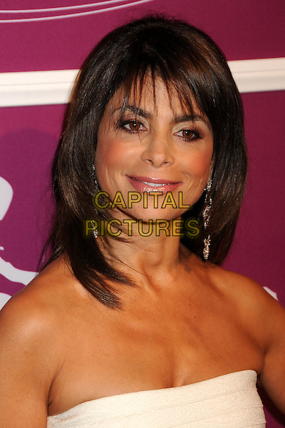 "PAULA ABDUL.Variety's 1st Annual ""Power Of Women"" Luncheon held at the Beverly Wilshire hotel, Beverly Hills, California, USA..September 24th, 2009.headshot portrait strapless white fringe.CAP/ADM/BP.©Byron Purvis/AdMedia/Capital Pictures."