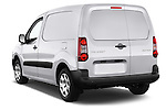 Car pictures of rear three quarter view of 2015 Peugeot Partner - 4 Door Car Van Angular Rear
