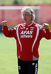 Nederland, Alkmaar, 26 juni 2012.Gertjan Verbeek, trainer-coach van AZ