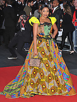 Terry Pheto at the 60th BFI London Film Festival &quot;A United Kingdom&quot; opening gala, Odeon Leicester Square cinema, Leicester Square, London, England, UK, on Wednesday 05 October 2016.<br /> CAP/CAN<br /> &copy;CAN/Capital Pictures /MediaPunch ***NORTH AND SOUTH AMERICAS ONLY***
