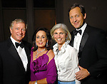 From left: Jesse and Betty Tutor with Judy and Scott Nyquist at the Houston Symphony's opening night gala dinner at The Corinthian Saturday Sept. 12, 2009. (Dave Rossman/For the Chronicle)