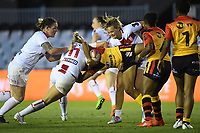 England Defence, England v Papua New Guinea - Women's Rugby League World Cup match at Southern Cross Group Stadium, Sydney, Australia on 16 November 2017.<br /> Copyright photo: Delly Carr / www.photosport.nz MANDATORY CREDIT/BYLINE : Delly Carr/SWpix.com/PhotosportNZ