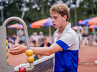 Hilversum, Netherlands, August 8, 2018, National Junior Championships, NJK, Guy den Ouden (NED)<br /> Photo: Tennisimages/Henk Koster