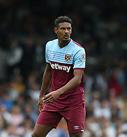West Ham United's Sebastien Haller<br /> <br /> Photographer Rob Newell/CameraSport<br /> <br /> Football Pre-Season Friendly - Fulham v West Ham United - Saturday July 27th 2019 - Craven Cottage - London<br /> <br /> World Copyright © 2019 CameraSport. All rights reserved. 43 Linden Ave. Countesthorpe. Leicester. England. LE8 5PG - Tel: +44 (0) 116 277 4147 - admin@camerasport.com - www.camerasport.com