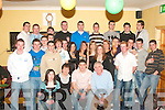 KEY OF THE DOOR: Colin O'Mahony, Lisselton (seated 2nd from right) celebrated his 21st birthday with family and friends in the Store Bar on Friday night.   Copyright Kerry's Eye 2008