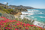 The coast of California at Montage Laguna Beach, in Orange County