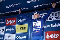 podium with GC Leader Remco Evenepoel (BEL/Deceuninck Quick Step) <br /> <br /> Baloise Belgium Tour 2019<br /> Stage 4: Seraing – Seraing 151.1km<br /> ©kramon