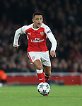 Arsenal's Alexis Sanchez in action during the Champions League group A match at the Emirates Stadium, London. Picture date November 23rd, 2016 Pic David Klein/Sportimage