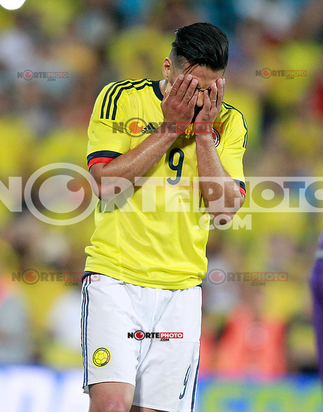 Colombia's Radamel Falcao dejected during international friendly match. June 13,2017.(ALTERPHOTOS/Acero) (NortePhoto.com) (NortePhoto.com)