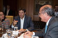 SAO PAULO, SP, 04 DE MARÇO DE 2013. REUNIAO ENTRE O GOVERNADOR ALCKMIN E O PREFEITO FERNANDO HADDAD. O Governador de São Paulo, Geraldo Alckmin e o Prefeito de São Paulo, Fernando Haddad durante reunião no Palacio dos Bandeirantes, na tarde desta segunda feira. FOTO ADRIANA SPACA/BRAZIL PHOTO PRESS