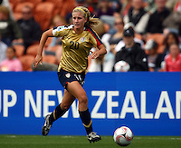 Olivia Klei (USA)..FIFA U17 Women's World Cup, Paraguay v USA, Waikato Stadium, Hamilton, New Zealand, Sunday 2 November 2008. Photo: Renee McKay/PHOTOSPORT