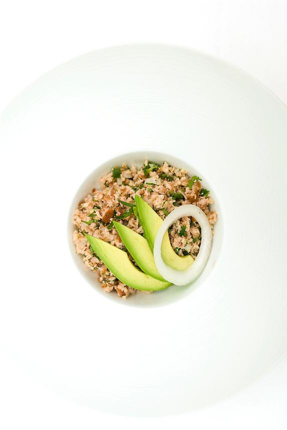 platters from Federico Rigoletti's restaurant Puntarena 29-08-07