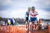 Ben Tulett (GBR)<br /> <br /> Men's U23 race<br /> UCI 2020 Cyclocross World Championships<br /> Dübendorf / Switzerland<br /> <br /> ©kramon