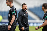 Derek McInnes remonstrating with the officials at full time