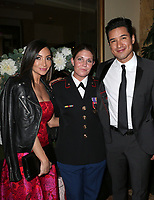 LOS ANGELES, CA - NOVEMBER 9: Courtney Laine Mazza, Megan Leavey, Mario Lopez, at the 2nd Annual Vanderpump Dog Foundation Gala at the Taglyan Cultural Complex in Los Angeles, California on November 9, 2017. Credit: November 9, 2017. <br /> CAP/MPI/FS<br /> &copy;FS/MPI/Capital Pictures