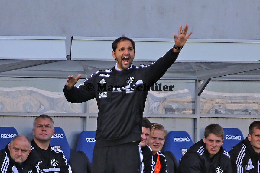 Trainer Stefan Ruthenbeck (Aalen) - FSV Frankfurt vs. VfR Aalen, Frankfurter Volksbank Stadion