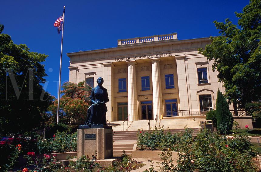 Pioneer Memorial Museum, dedicated to the women of Utah, Salt Lake City, Utah.