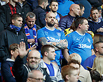 Rangers fans in new club strips
