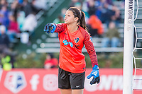 Boston, MA - Sunday May 07, 2017: Sabrina D'Angelo during a regular season National Women's Soccer League (NWSL) match between the Boston Breakers and the North Carolina Courage at Jordan Field.