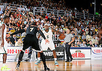 NBA player LeBron James plays at the South Florida All Star Classic held at FIU's U.S. Century Bank Arena, Miami, Florida. .
