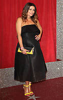 Alison King at The British Soap Awards 2019 arrivals. The Lowry, Media City, Salford, Manchester, UK on June 1st 2019<br /> CAP/ROS<br /> ©ROS/Capital Pictures