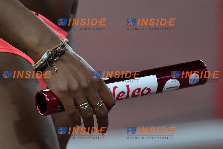 mano e testimone staffetta. Hand and Baton <br /> Roma 02-06-2016 Stadio Olimpico <br /> IAAF Diamond League Golden Gala <br /> Atletica Leggera<br /> Foto Andrea Staccioli / Insidefoto
