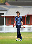 St Hildas' Kate Heffernan during the New Zealand Secondary Schools 1st XI girls' cricket national finals match between Tawa College and St Hilda's Collegiate at Fitzherbert Park in Palmerston North, New Zealand on Sunday, 3 December 2017. Photo: Dave Lintott / lintottphoto.co.nz
