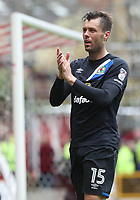 Blackburn Rovers' Elliott Ward at the end of todays match<br /> <br /> Photographer Rachel Holborn/CameraSport<br /> <br /> The EFL Sky Bet Championship - Nottingham Forest v Blackburn Rovers - Friday 14th April 2016 - The City Ground - Nottingham<br /> <br /> World Copyright &copy; 2017 CameraSport. All rights reserved. 43 Linden Ave. Countesthorpe. Leicester. England. LE8 5PG - Tel: +44 (0) 116 277 4147 - admin@camerasport.com - www.camerasport.com