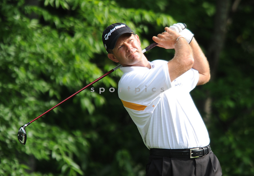 RETIEF GOOSEN,during a practice round of the Quail Hollow Championship, on April 29, 2009 in Charlotte, NC.