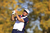 Phil Mickelson (Team USA) on the 17th tee during Sunday Singles matches at the Ryder Cup, Hazeltine National Golf Club, Chaska, Minnesota, USA.  02/10/2016<br /> Picture: Golffile | Fran Caffrey<br /> <br /> <br /> All photo usage must carry mandatory copyright credit (&copy; Golffile | Fran Caffrey)