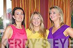Noreen Mangan, Aine Fitzgerald Killorglin and Noreen Mangan Beaufort enjoying themselves at the Celebrity Chef dinner in the Plaza Hotel on Thursday night