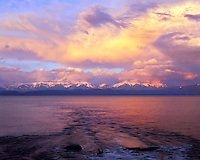 Sunset at Flathead Lake Montana