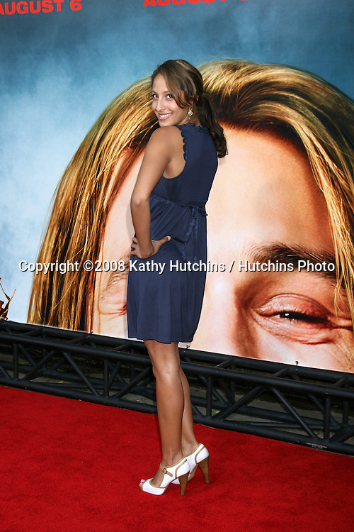 "Christel Khalil  arriving at the premiere of ""Pineapple Express""  in Westwood, CA on.July 31, 2008.©2008 Kathy Hutchins / Hutchins Photo ."