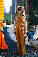 Adi Heyman Day 4 of New York Fashion Week on Feb 15, 2015 (Photo by Hunter Abrams/Guest of a Guest)