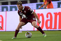 29th July 2020; Olympic Grande Torino Stadium, Turin, Piedmont, Italy; Serie A Football, Torino versus Roma; Cristian Ansaldi of Torino FC on the ball