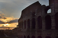 Michael McCollum.6/24/11.The Colosseum, or the Coliseum, originally the Flavian Amphitheatre  is an elliptical amphitheatre in the centre of the city of Rome, Italy, the largest ever built in the Roman Empire. It is considered one of the greatest works of Roman architecture and Roman engineering.