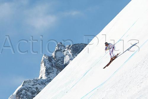 31 01 2010 Ski Alpine FIS WC St Moritz Super G women St Moritz Switzerland 31 Jan 10 Ski Alpine FIS World Cup Super Gfor women Picture shows Marion Rolland FRA .