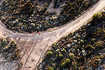 Aerial shot of riders during stage seven of the 2010 Absa Cape Epic Mountain Bike stage race held in and around Oak Valley in the Western Cape, South Africa on the 27 March 2010.Photo by Karin Schermbrucker/SPORTZPICS
