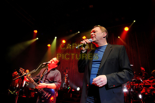 LONDON, ENGLAND - April 15: Robin Campbell and Duncan Campbell of UB40 perform in concert at Shepherd's Bush Empire on April 15, 2014 in London, England<br /> CAP/MAR<br /> &copy; Martin Harris/Capital Pictures