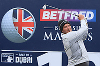 Ryan Fox (NZL) on the 10th tee during the Pro-Am of the Betfred British Masters 2019 at Hillside Golf Club, Southport, Lancashire, England. 08/05/19<br /> <br /> Picture: Thos Caffrey / Golffile<br /> <br /> All photos usage must carry mandatory copyright credit (© Golffile | Thos Caffrey)