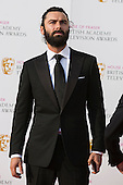 London, UK. 8 May 2016. Poldark actor Aidan Turner. Red carpet  celebrity arrivals for the House Of Fraser British Academy Television Awards at the Royal Festival Hall.