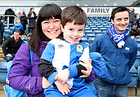 Blackburn Rovers Fans at the start of todays match<br /> <br /> Photographer Rachel Holborn/CameraSport<br /> <br /> The EFL Sky Bet League One - Blackburn Rovers v Southend United - Saturday 7th April 2018 - Ewood Park - Blackburn<br /> <br /> World Copyright &copy; 2018 CameraSport. All rights reserved. 43 Linden Ave. Countesthorpe. Leicester. England. LE8 5PG - Tel: +44 (0) 116 277 4147 - admin@camerasport.com - www.camerasport.com