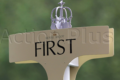 18.06.2013 Ascot, England. The first sign in the winners circle on day one of Royal Ascot.